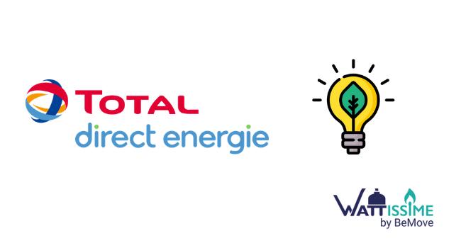 offre verte à tarif fixe total direct énergie