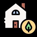 maison alimentée à l'énergie verte