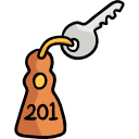 clefs de l'appartement de Camille, appartement 201, plus de secrets pour vous !