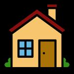 emoji maison