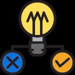 ampoule présentant choix de fournisseur d'électricité