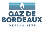 logo gaz de bordeaux - fournisseur alternatif d'électricité
