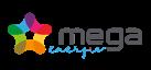 logo mega énergie - fournisseur alternatif d'électricité