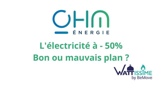 ohm énergie offre été 2021